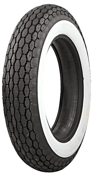 Beck White Wall Tyre