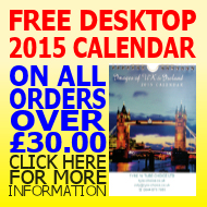 Free 2015 Desktop Calendar on orders over £30.00