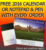 Free 2016 Calendar or Notepad with every order