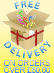 Free Delivery on Orders £60.00 or above