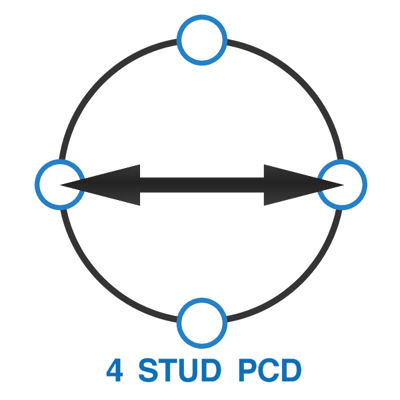 4 Stud PCD