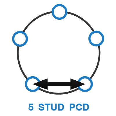 5 Stud PCD